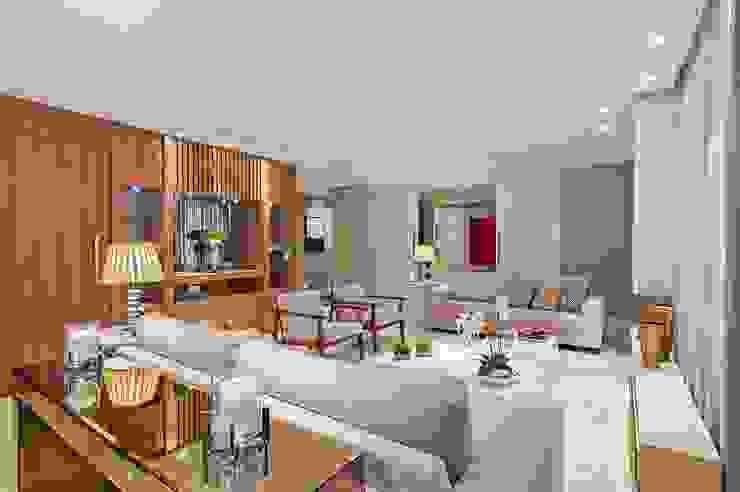 Carolina Kist Arquitetura & Design Modern living room