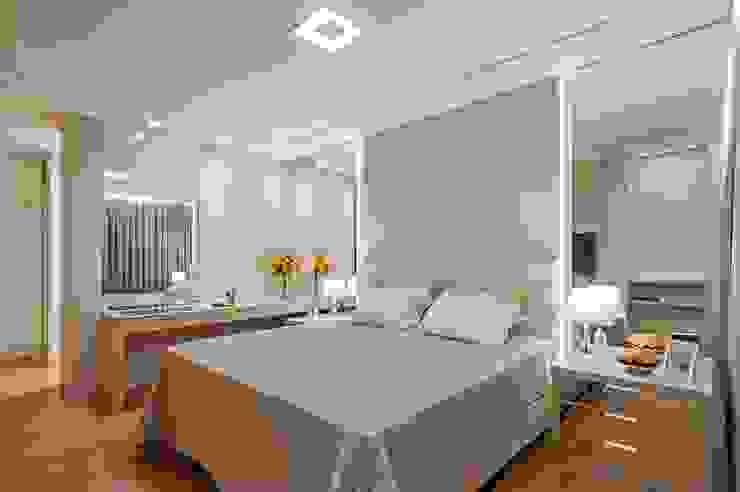 Kamar Tidur Modern Oleh Carolina Kist Arquitetura & Design Modern