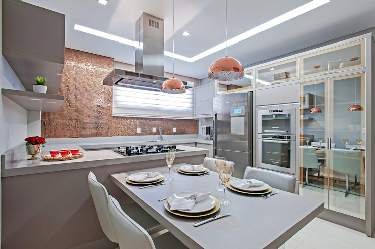 Dapur Modern Oleh Carolina Kist Arquitetura & Design Modern