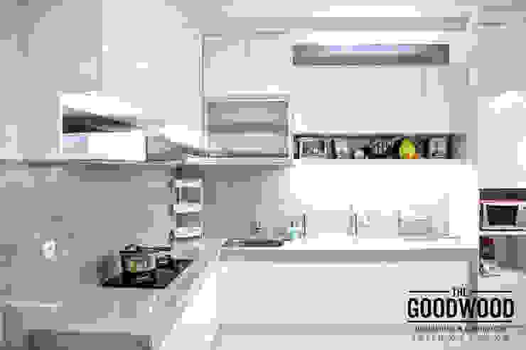White Luxury Kitchen Dapur Minimalis Oleh The GoodWood Interior Design Minimalis