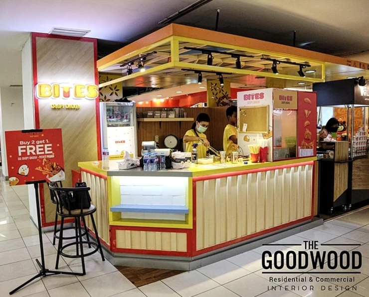 Bites Crispy Chicken Gastronomi Modern Oleh The GoodWood Interior Design Modern