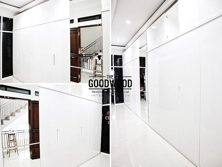 Dressing minimaliste par The GoodWood Interior Design Minimaliste