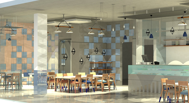 Coffeville-Commercial Cafe by monolith projects