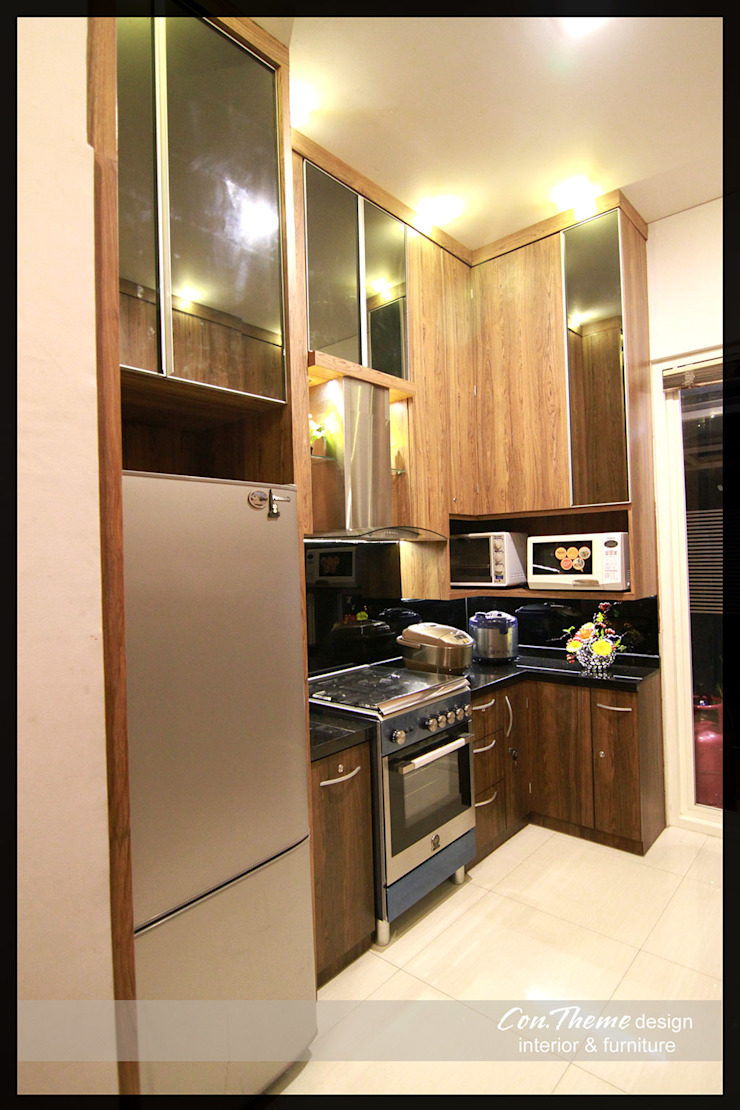 Contheme Design KitchenCabinets & shelves