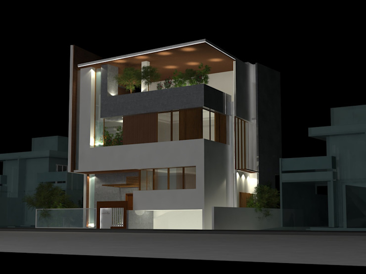 a residence in gulbarga by monolith projects