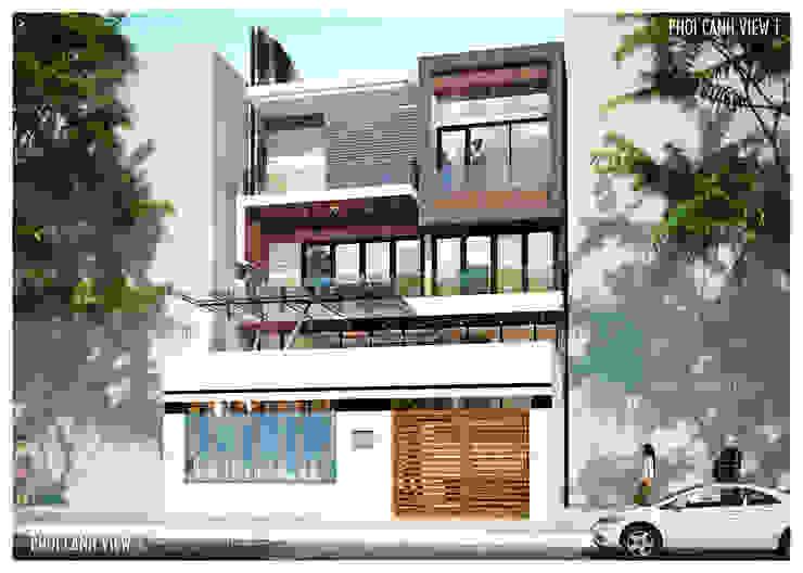 BIỆT THỰ LÔ PHỐ ANH VINH - THỦY NGUYÊN - THÀNH PHỐ HẢI PHÒNG bởi Kiến trúc Việt Xanh