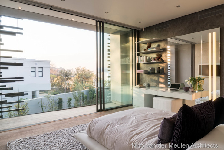 Bedroom Modern style bedroom by Nico Van Der Meulen Architects Modern