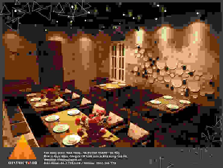 Tầng 3 Phòng ăn phong cách mộc mạc bởi homify Mộc mạc
