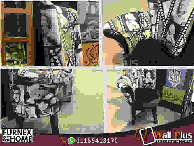 High Chair : الحد الأدنى  تنفيذ WALL PLUS , تبسيطي خشب Wood effect