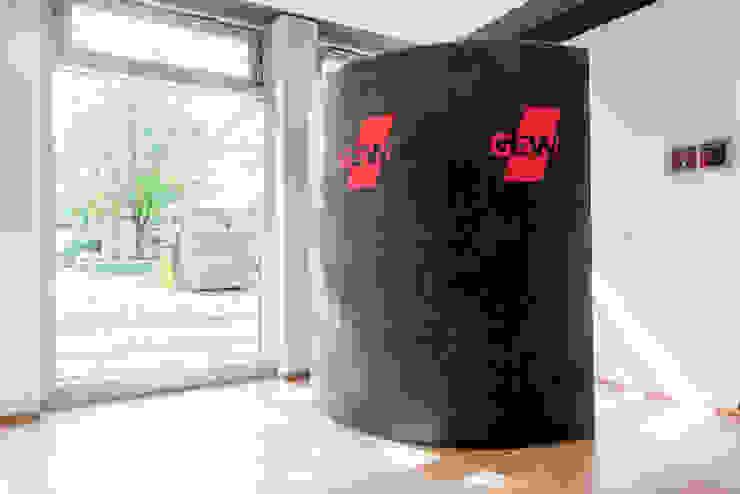 Ohlde Interior Design Modern office buildings Stone White