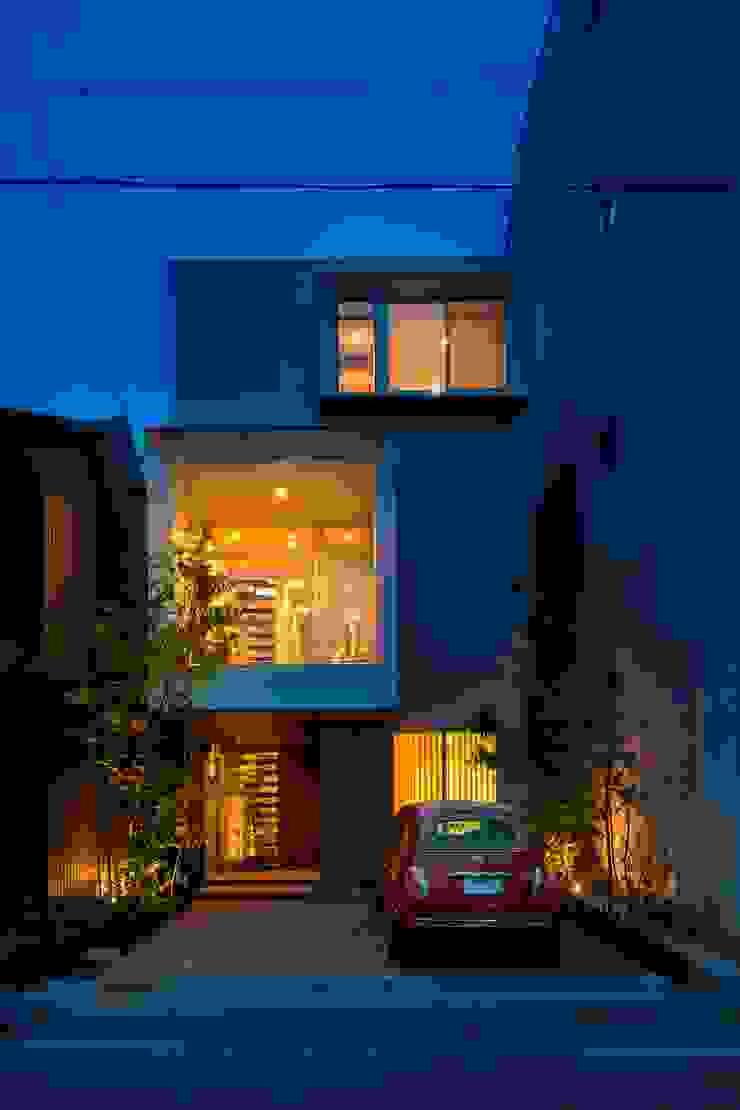 根據 今井賢悟建築設計工房 現代風 強化水泥