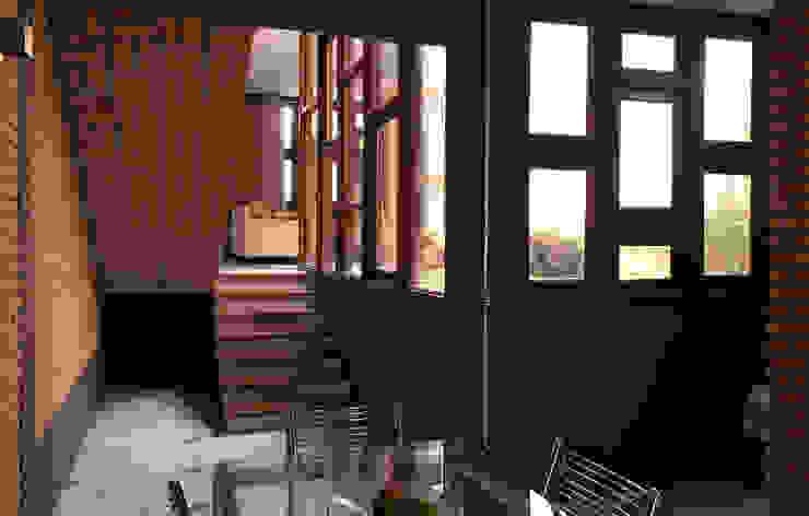 Phòng ăn phong cách mộc mạc bởi JMN arquitetura Mộc mạc