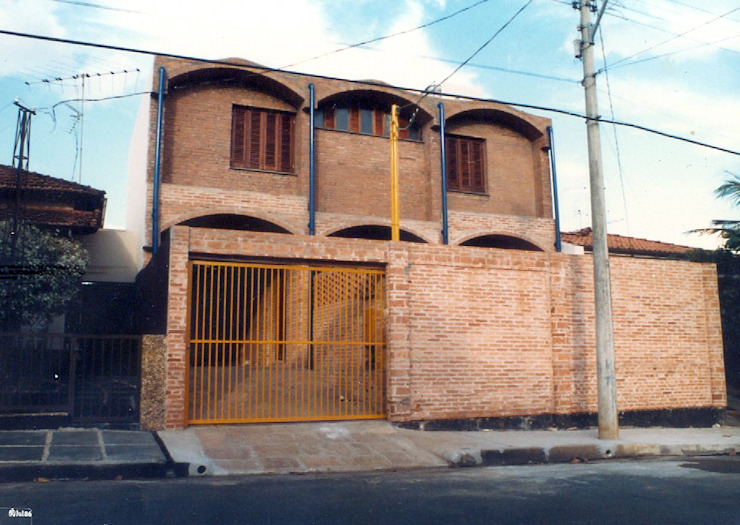 JMN arquitetura Single family home Bricks