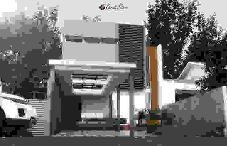 3D Perspective BM House by christstevie architecture interior contractor Minimalist Reinforced concrete