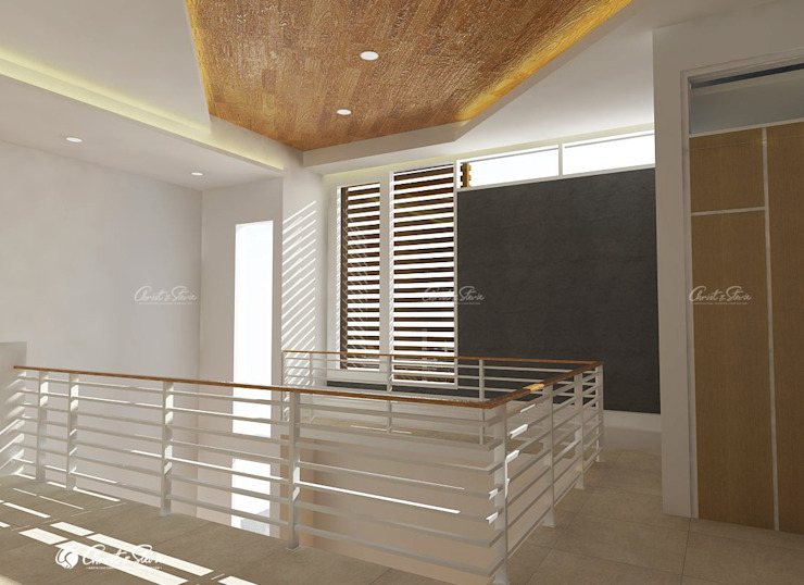 minimalist  by christstevie architecture interior contractor, Minimalist Wood Wood effect