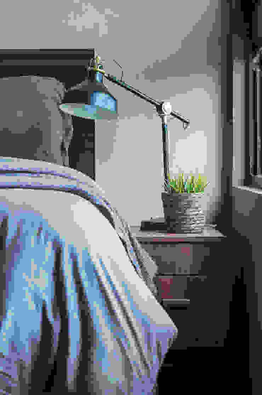 Phòng ngủ phong cách Bắc Âu bởi 齊禾設計有限公司 Bắc Âu Gỗ Wood effect