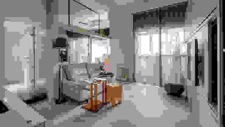 三民住宅 根據 齊禾設計有限公司 簡約風 塑木複合材料