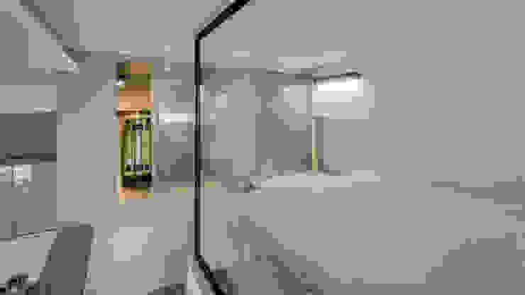 三民住宅 根據 齊禾設計有限公司 簡約風 玻璃