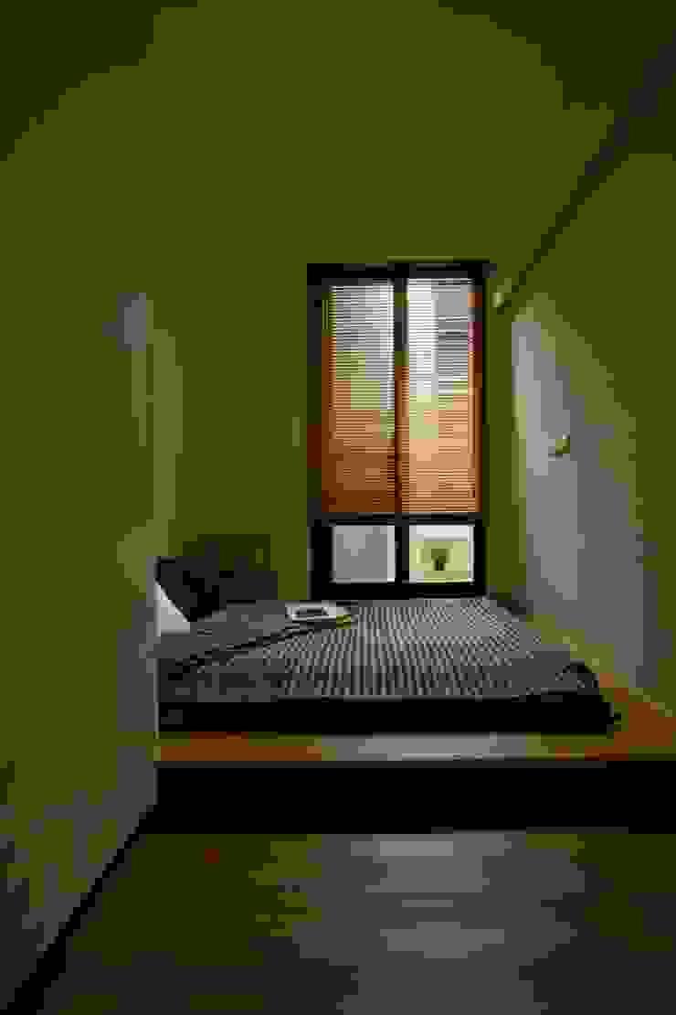晉江街住宅 根據 齊禾設計有限公司 簡約風 木頭 Wood effect
