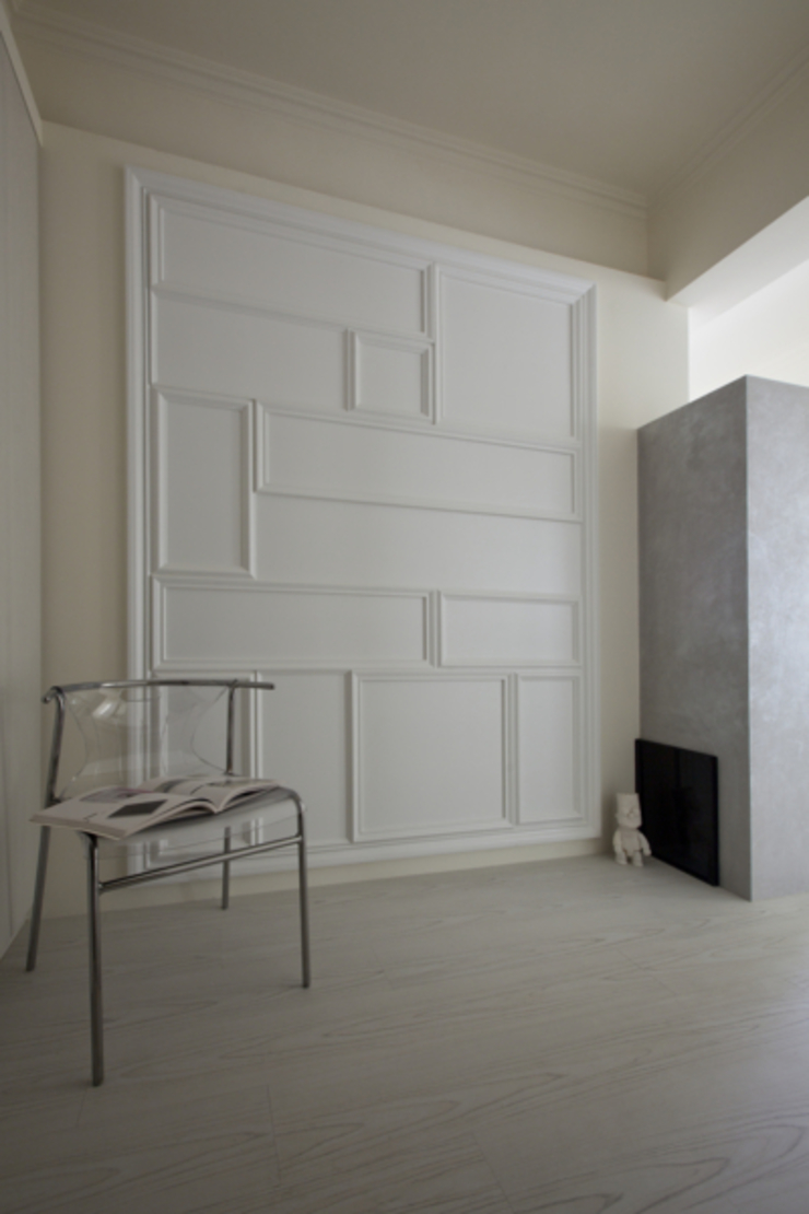 古亭住宅 現代風玄關、走廊與階梯 根據 齊禾設計有限公司 現代風