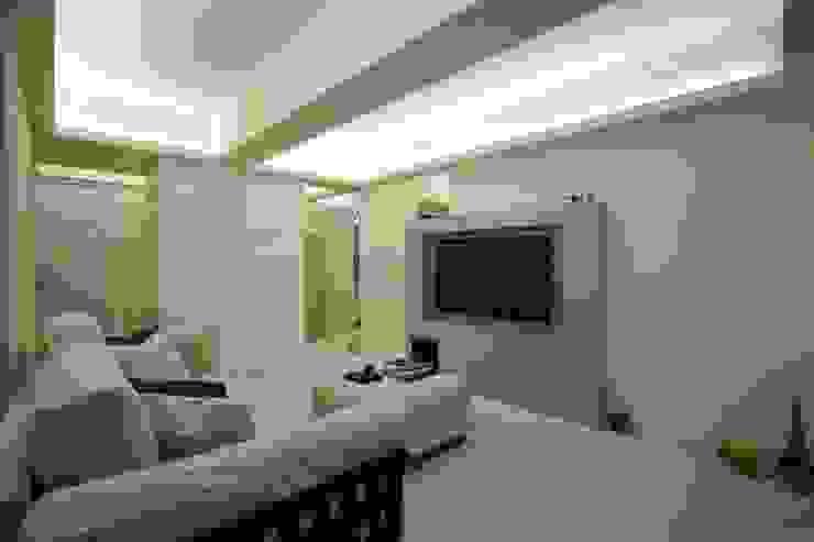 古亭住宅 现代客厅設計點子、靈感 & 圖片 根據 齊禾設計有限公司 現代風