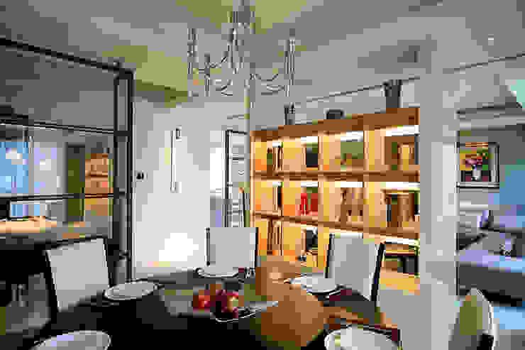 Salas de jantar modernas por 四一室內裝修有限公司 Moderno