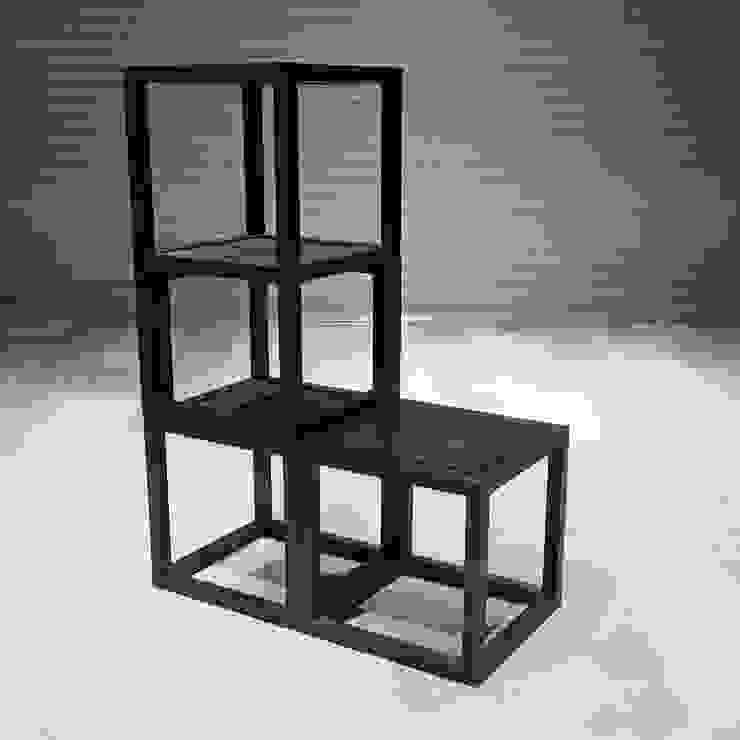 組合-椅: 現代  by 四一室內裝修有限公司, 現代風