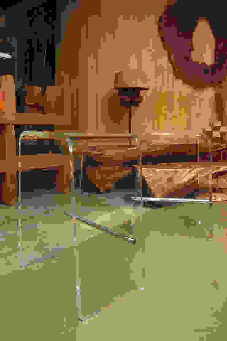 看透吧台椅: 現代  by 四一室內裝修有限公司, 現代風