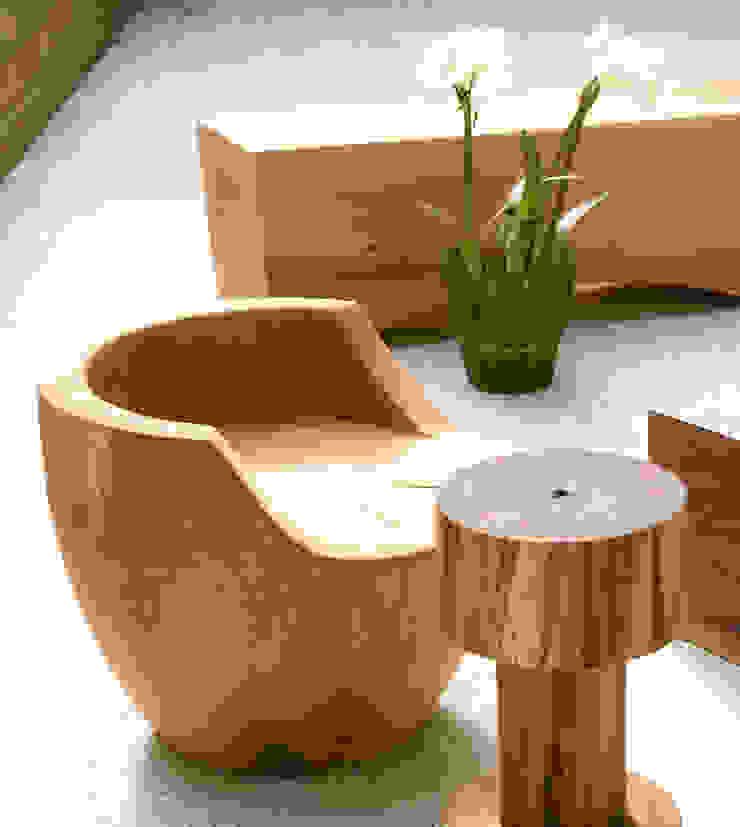 香杉原木椅: 現代  by 四一室內裝修有限公司, 現代風