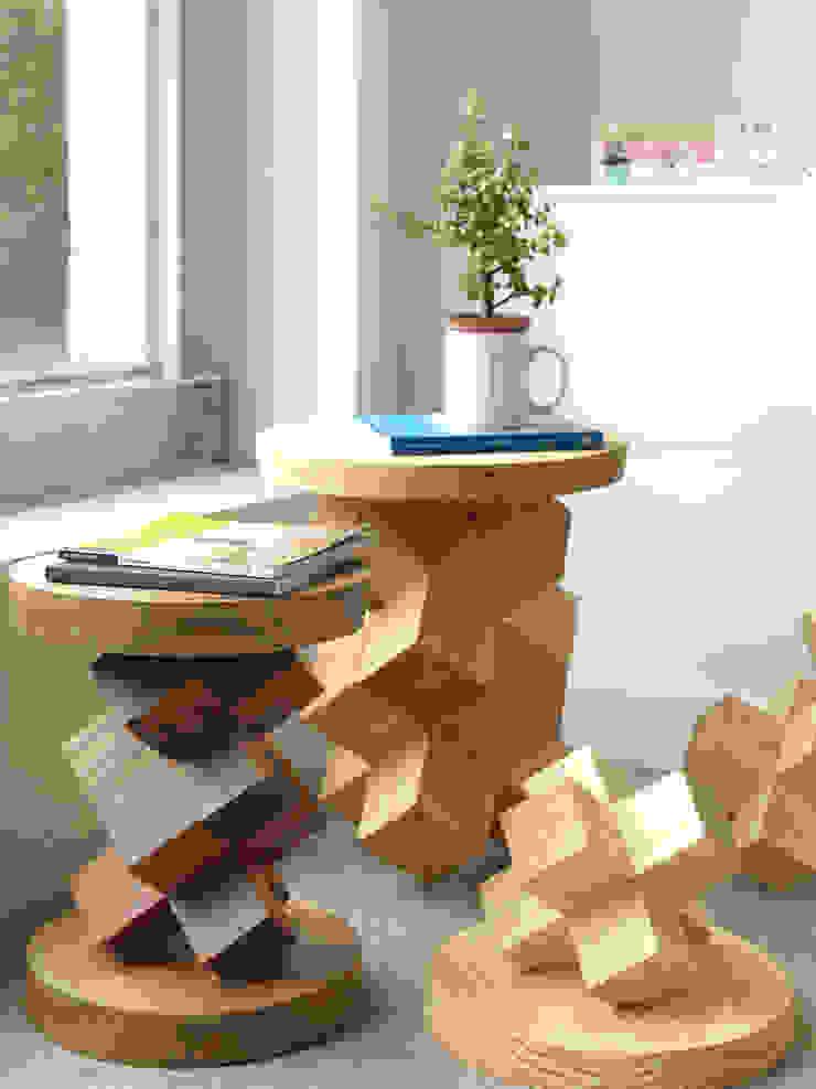 椅子-疊疊不休: 現代  by 四一室內裝修有限公司, 現代風