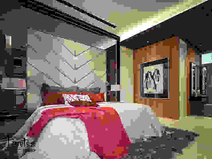 Master Bedroom Kamar Tidur Modern Oleh PT Kreasi Cemerlang Abadi Modern Kayu Wood effect