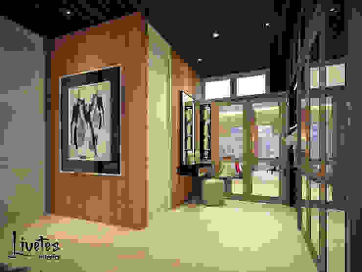 Master Bedroom - Walk In Closet Ruang Ganti Modern Oleh PT Kreasi Cemerlang Abadi Modern Kayu Wood effect