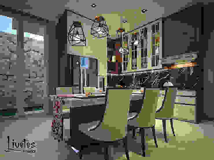 Pantry & Dining Room Ruang Makan Modern Oleh PT Kreasi Cemerlang Abadi Modern Kayu Wood effect