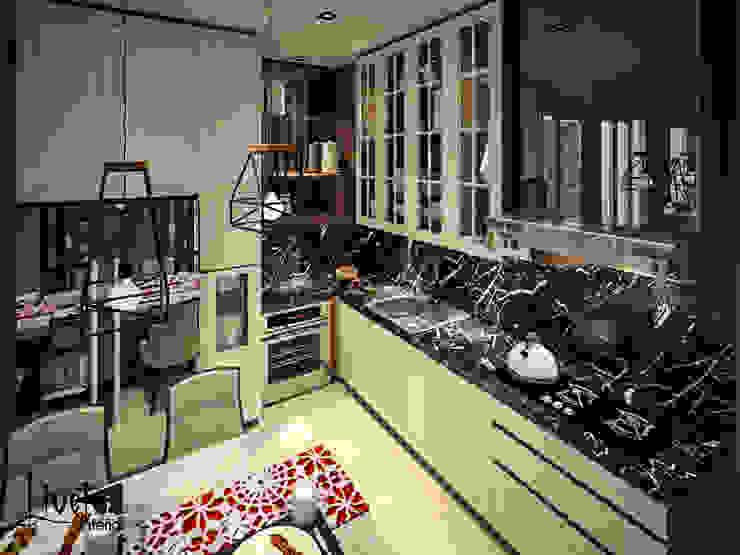 Pantry Ruang Makan Modern Oleh PT Kreasi Cemerlang Abadi Modern Kayu Wood effect