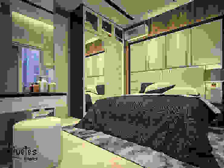 Parent Bedroom Kamar Tidur Modern Oleh PT Kreasi Cemerlang Abadi Modern Kayu Wood effect