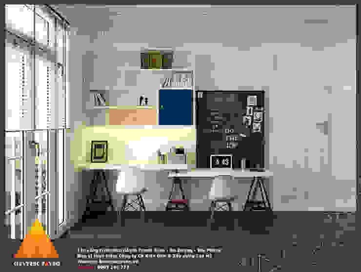 Phòng làm việc Phòng học/văn phòng phong cách hiện đại bởi homify Hiện đại