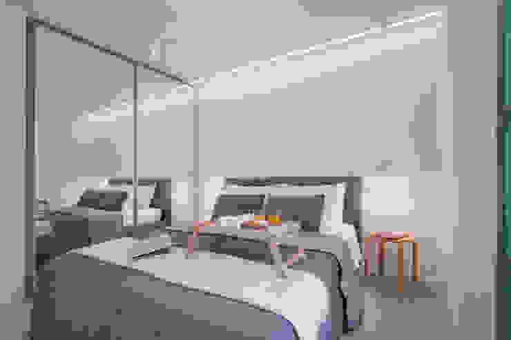 Phòng ngủ phong cách hiện đại bởi Chantal Forzatti architetto Hiện đại