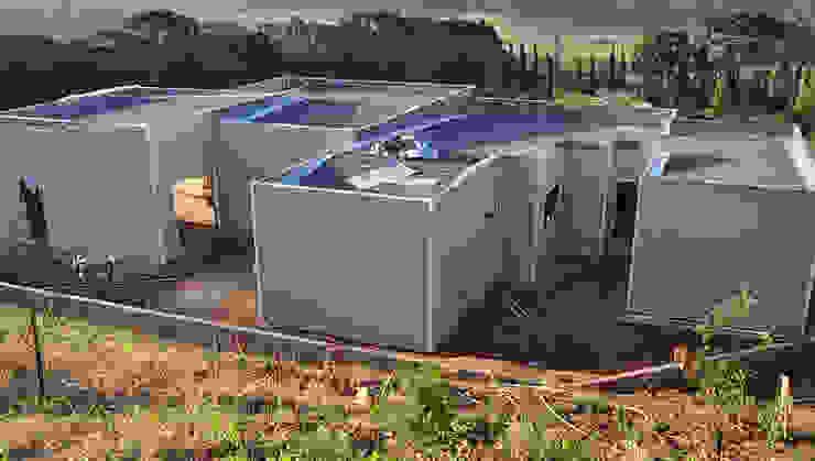 Modern home by Decorvisão | Sistemas de Remodelação e Construção LSF Modern Iron/Steel