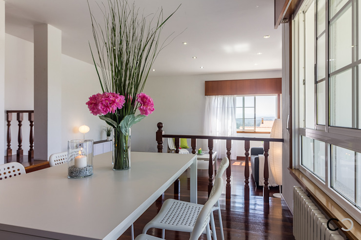 Modern dining room by CCVO Design and Staging Modern