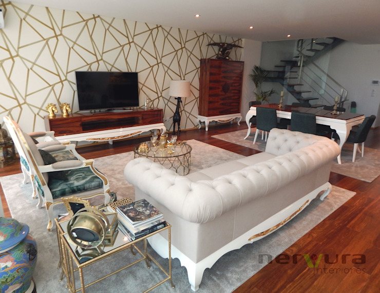 Living room by Nervura Interiores