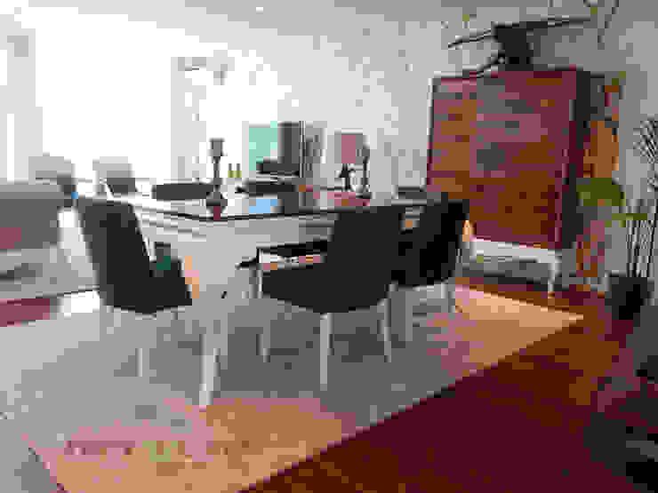 Sala de Jantar por Nervura Interiores Clássico