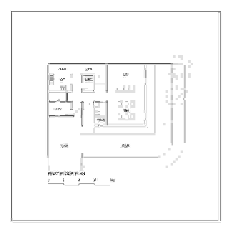 Denah Lantai 1 Oleh studiopapa Minimalis