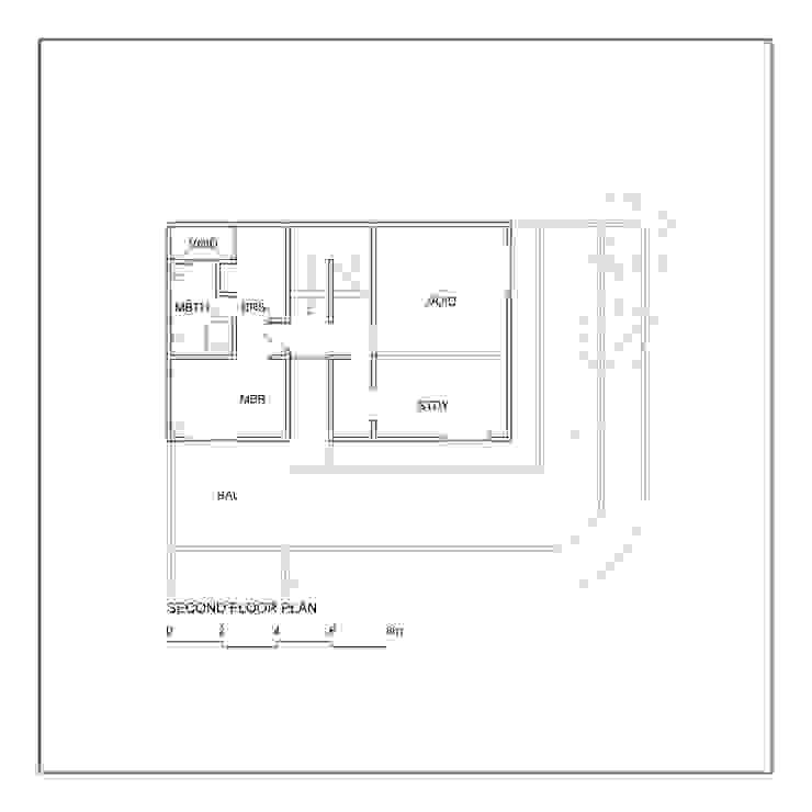 Denah Lantai 2 Oleh studiopapa Minimalis