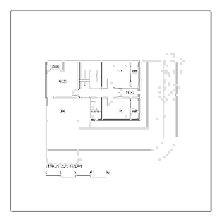 Denah Lantai 3 Oleh studiopapa Minimalis