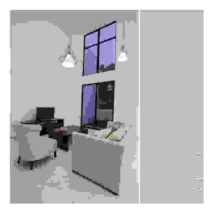 Living Area Ruang Keluarga Minimalis Oleh studiopapa Minimalis
