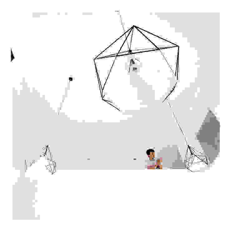 Double Height Ceiling Ruang Keluarga Minimalis Oleh studiopapa Minimalis