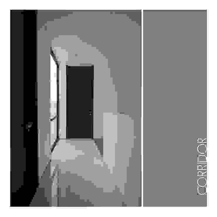 3rd FL Corridor Koridor & Tangga Minimalis Oleh studiopapa Minimalis Kayu Wood effect