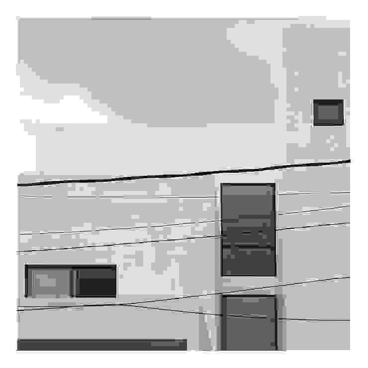 Tampak Depan 3 Rumah Minimalis Oleh studiopapa Minimalis