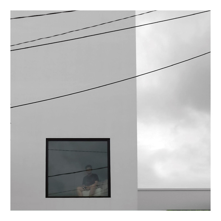 Tampak Depan 4 Rumah Minimalis Oleh studiopapa Minimalis