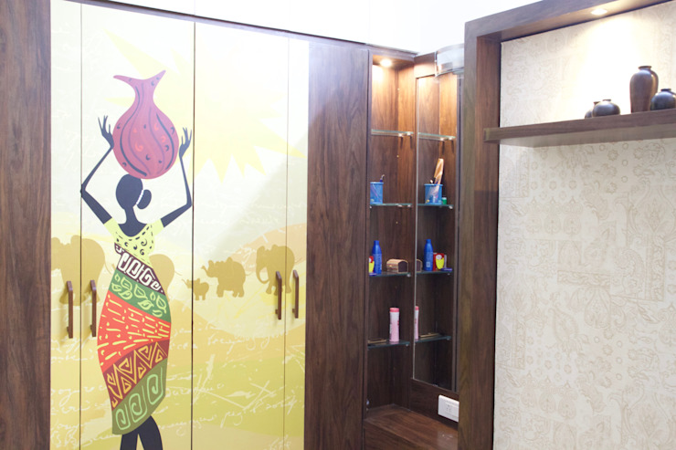 AMIT BLOOMFIELD 3BHK: modern  by decormyplace,Modern